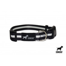 Coleira Estampada Don Dog - Black and White
