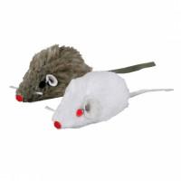 5 Mini Ratinhos de Pelúcia com Catnip