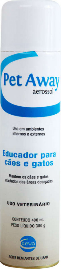 Pet Away Aerosol Ceva Educador P/ Cães E Gatos