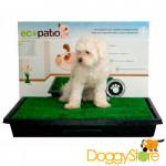 Ecopatio Sanitário Canino com Grama
