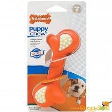 Osso Nylabone Puppy Chew Ação Dupla - P
