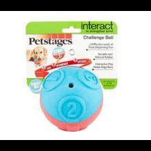 Brinquedo Para Cães Bola De Desafio Recheavel Petstages