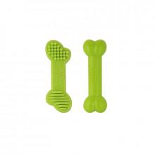 Ossinhos de Nylon Verde para Cães Pequenos -  Muito Resistente!
