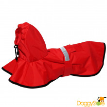 Capa de Chuva para Cães - Vermelha