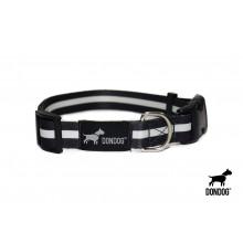 Coleira Estampada Don Dog - Black and White
