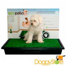 Ecopatio Sanitário Canino com Grama Sintética