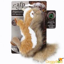 Esquilo de Pelúcia com Apito (Chipmunk)