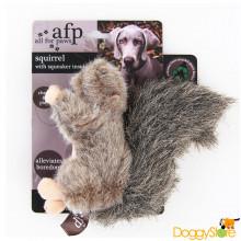 Esquilo de Pelúcia com Apito (Squirrel)