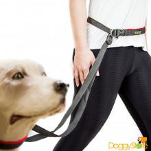 Guia de Cintura para Caminhada ou Jogging com Cães