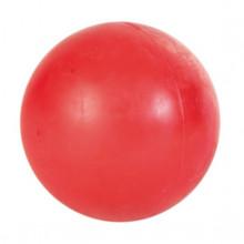 Bola Maciça de Borracha Natural - 7cm - Vermelha