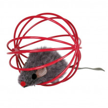 Kit com 4 Ratinhos de Pelúcia em Bola de Arame