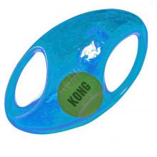 Brinquedo Interativo KONG Jumbler Football Azul