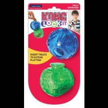Brinquedo Kong Lock-it Recheavel Para Cães Com 2 Bolas Tamanho Grande