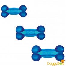 Osso de Borracha TPR azul Jambo para Cães