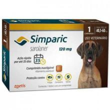 Antipulgas Simparic 120mg (40,1 - 60kg) 1 Comprimido