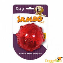 Bola de Borracha com Apito - Jambo