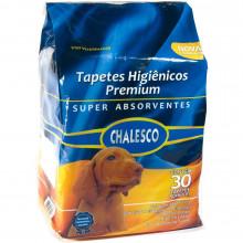 Tapete Higiênico Premium Chalesco - com 30 unidades