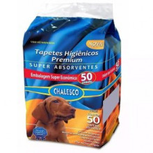 Tapete Higiênico Premium Chalesco - com 50 unidades