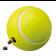 Brinquedo Kong Reward Tennis